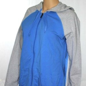 Denim & Co Active Full Zip Up French Terry Jacket